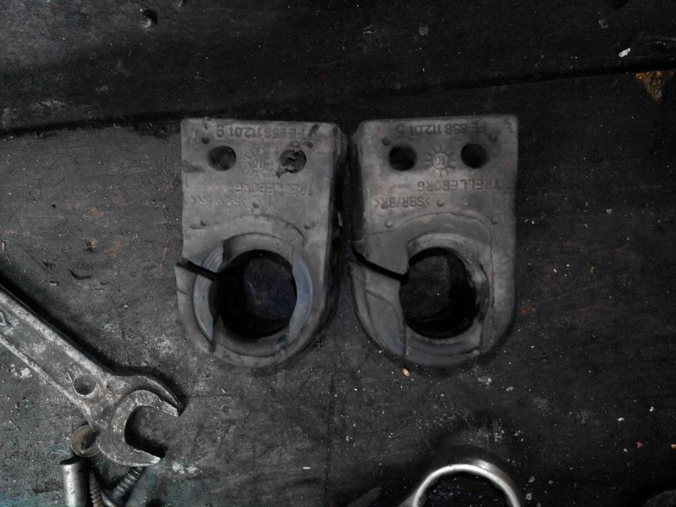 Замена втулок стабилизатора рено флюенс своими руками