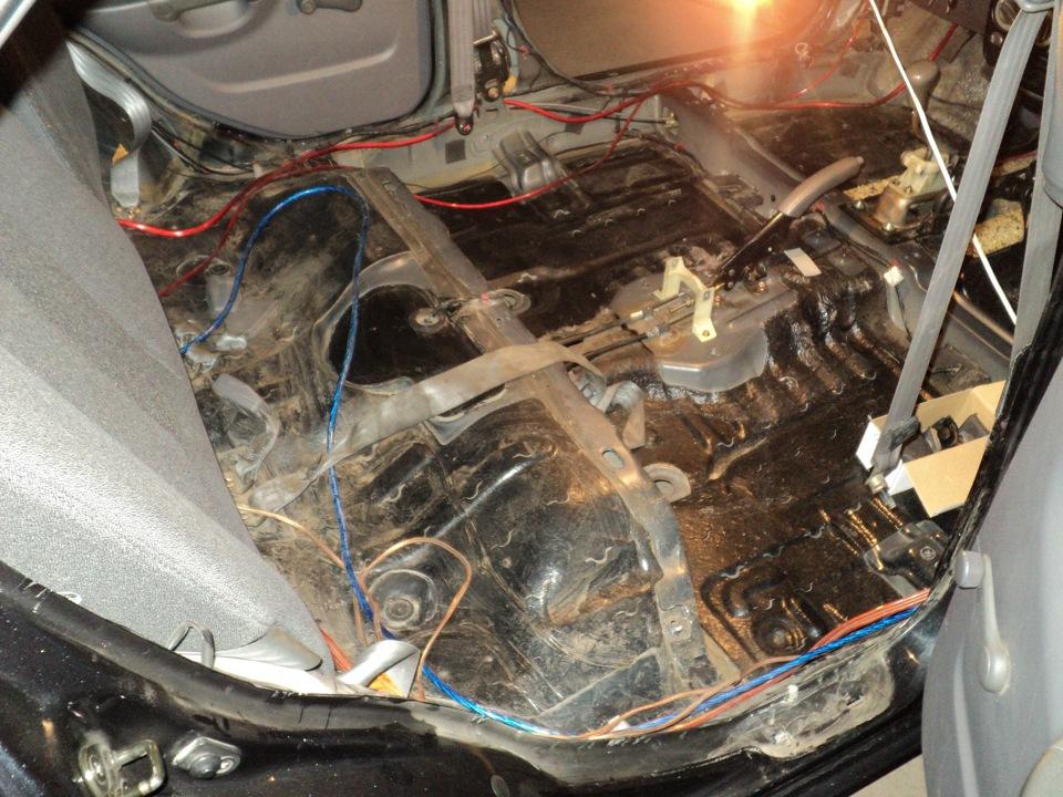 Шумоизоляция Hyundai Accent 686