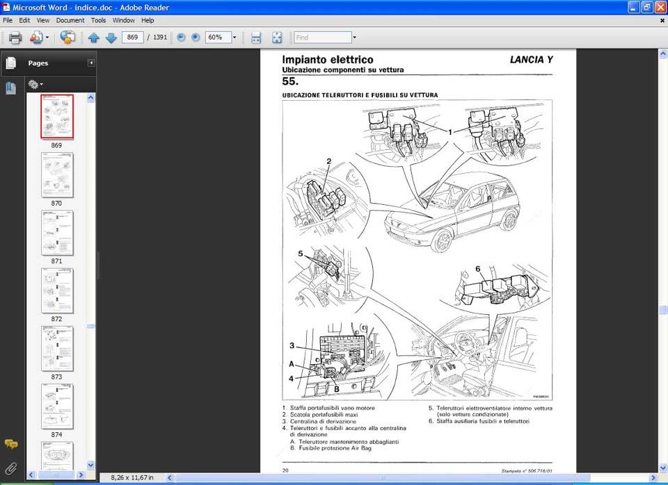 lancia y service manual 1997 service book operation manual y840 rh drive2 com lancia y service repair manual lancia y service repair manual