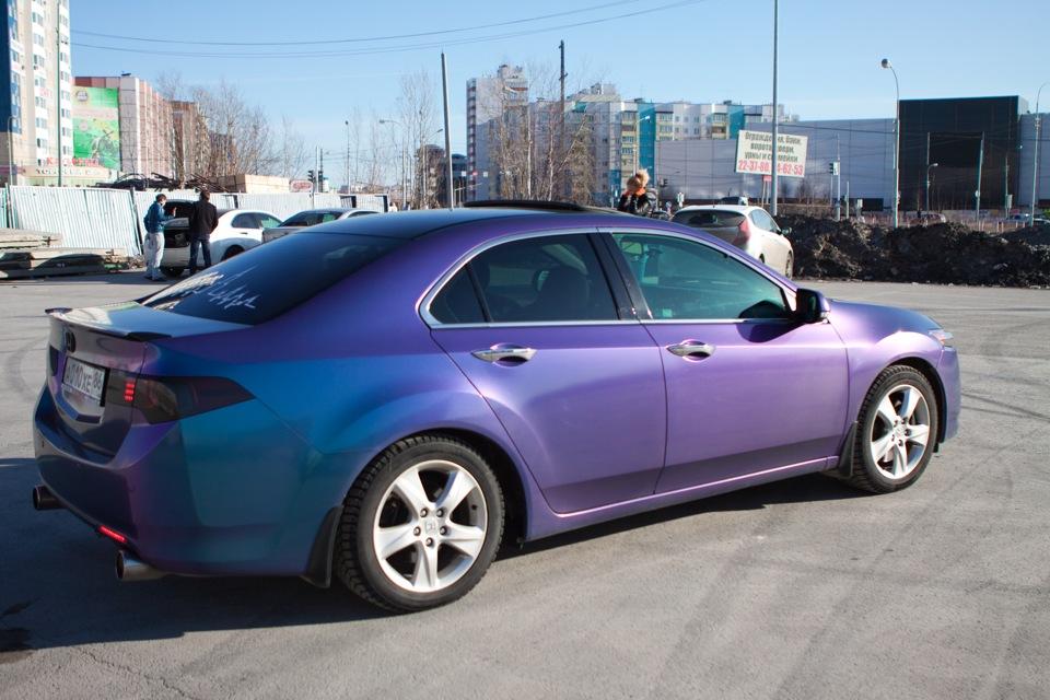 Цвет машины хамелеон