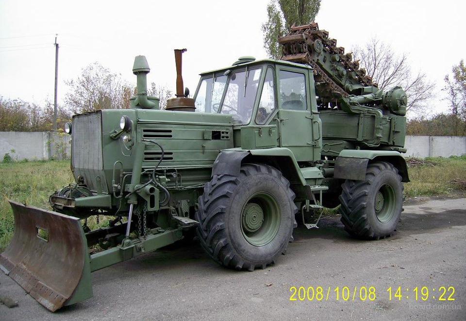 Бульдозерное оборудование для тракторов класса 10.