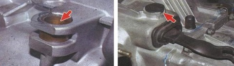Замена вилки сцепления ваз 2109