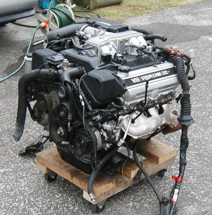 Двигатель 1uz-fe схемы