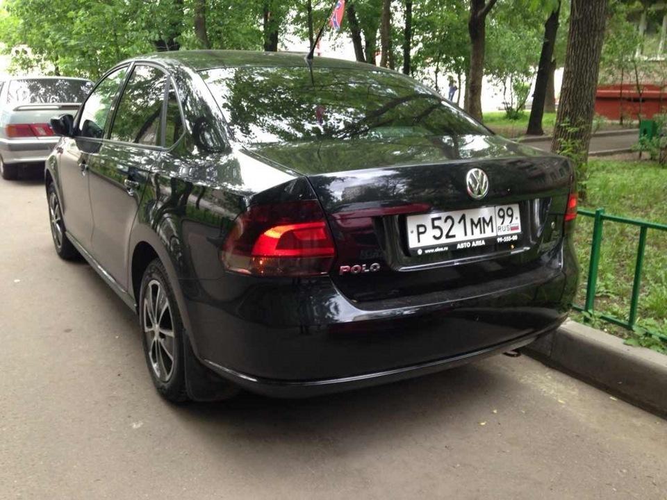 тонировка задних фонарей volkswagen polo