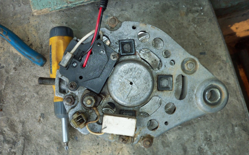 a467db4s 960 - Схема подключения реле зарядки на ваз 2106