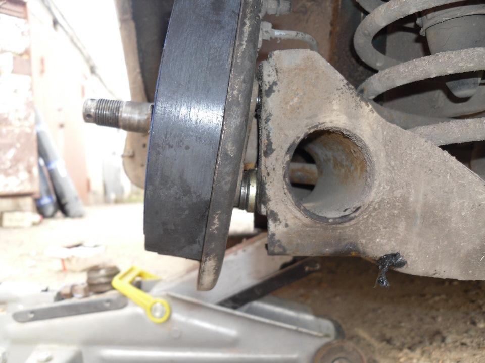 Как сделать развал задних колес ваз 2109 своими руками