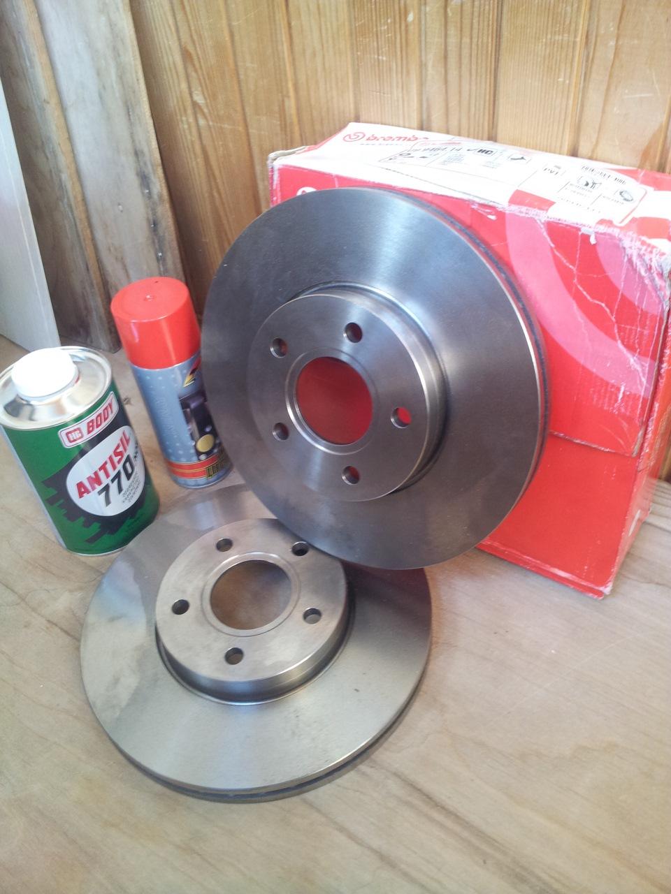 тормозные диски brembo ford focus 1