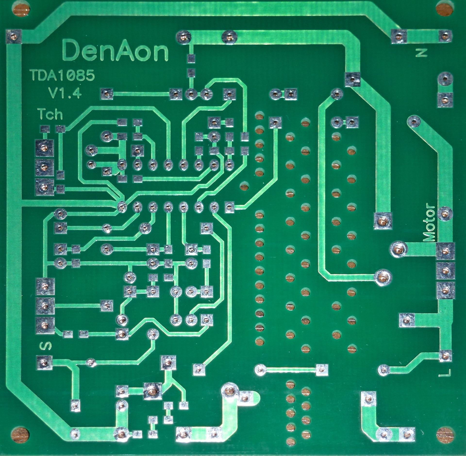 Регулятор оборотов на tda1085 схема фото 165