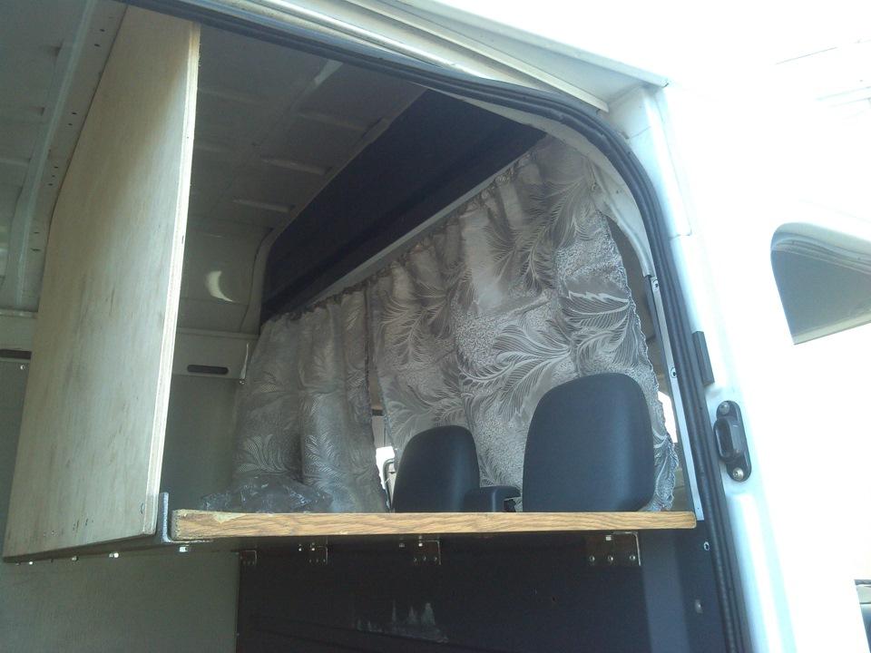 придает спальник в микроавтобусе фото правильное решение