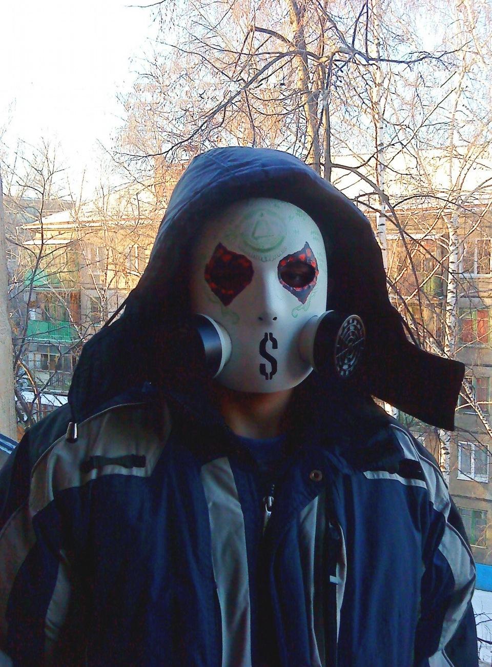Hollywood undead маска своими руками фото 675