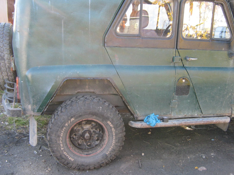Резка арок + установка расширителей. - бортжурнал УАЗ 469 Броневичёк 1975 года на DRIVE2