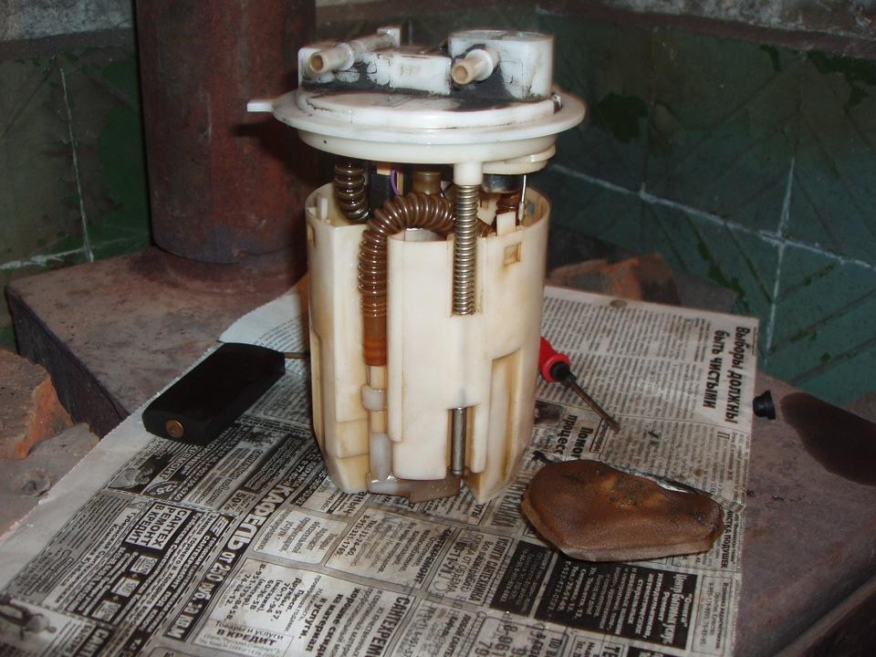 Замена бензонасоса на ваз 2114
