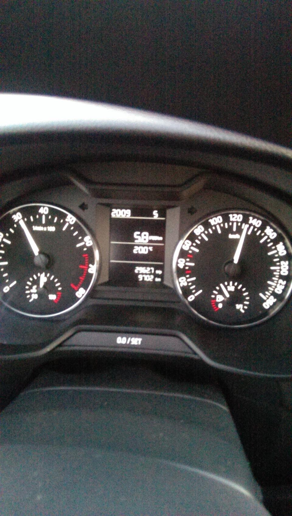 Octavia a7 какой бензин
