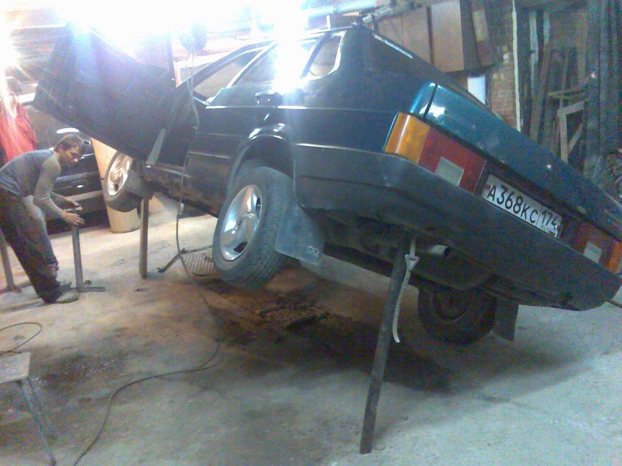 Фото №15 - ремонт кузова ВАЗ 2110 своими руками