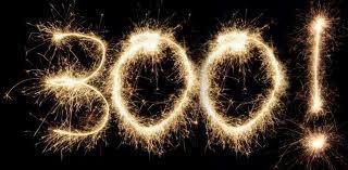 300 подписчиков Супер!