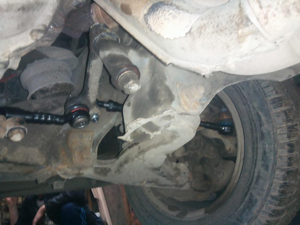 Замена средней рулевой тяги w211 Замена нижнего рычага corsa d