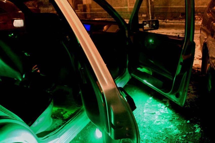 фото подсветки салона фиат темпра сайте представлены