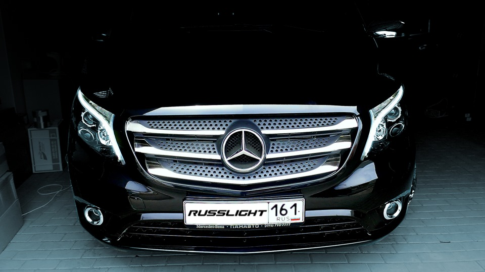 russlight lights for mercedes benz vito w447 russlight. Black Bedroom Furniture Sets. Home Design Ideas