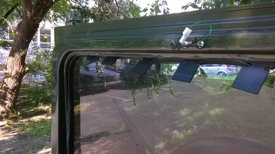 Электроподогрев лобового стекла видео