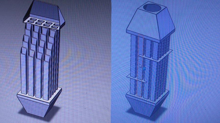 Теплообменник для воздуха Пластины теплообменника Kelvion FA184 Серов