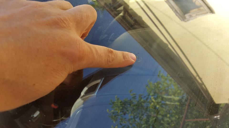 Мелкие сколы на лобовом стекле ремонт своими руками 5
