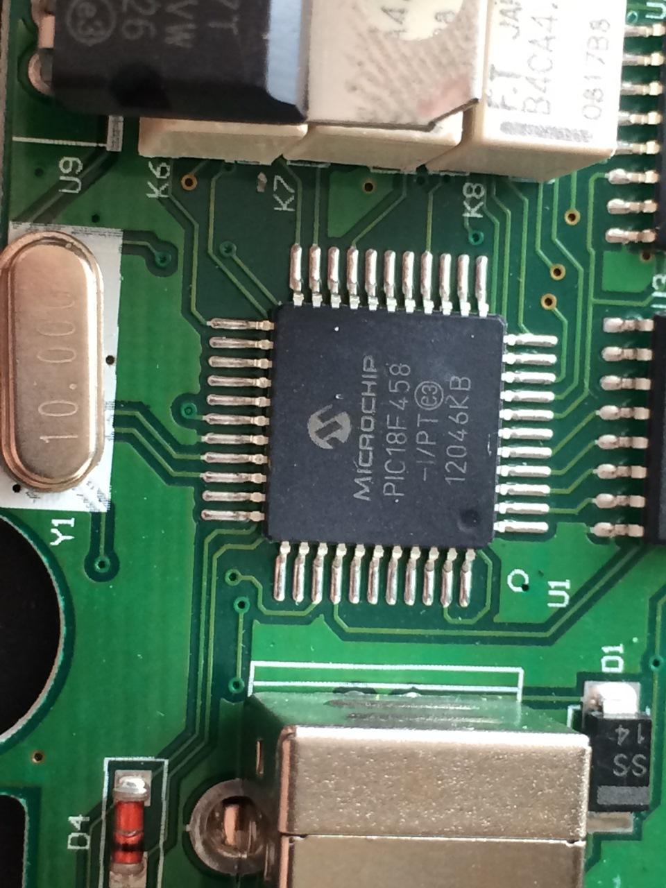Схема адаптера для opel op-com