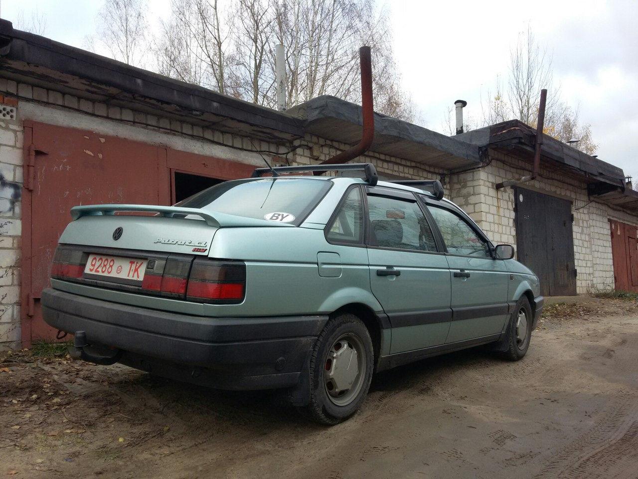 Багажник на крышу пассат б3 универсал своими руками 46