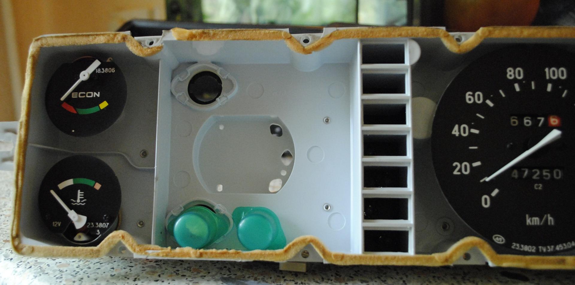 приборная панель ваз 2115 схема лампочек