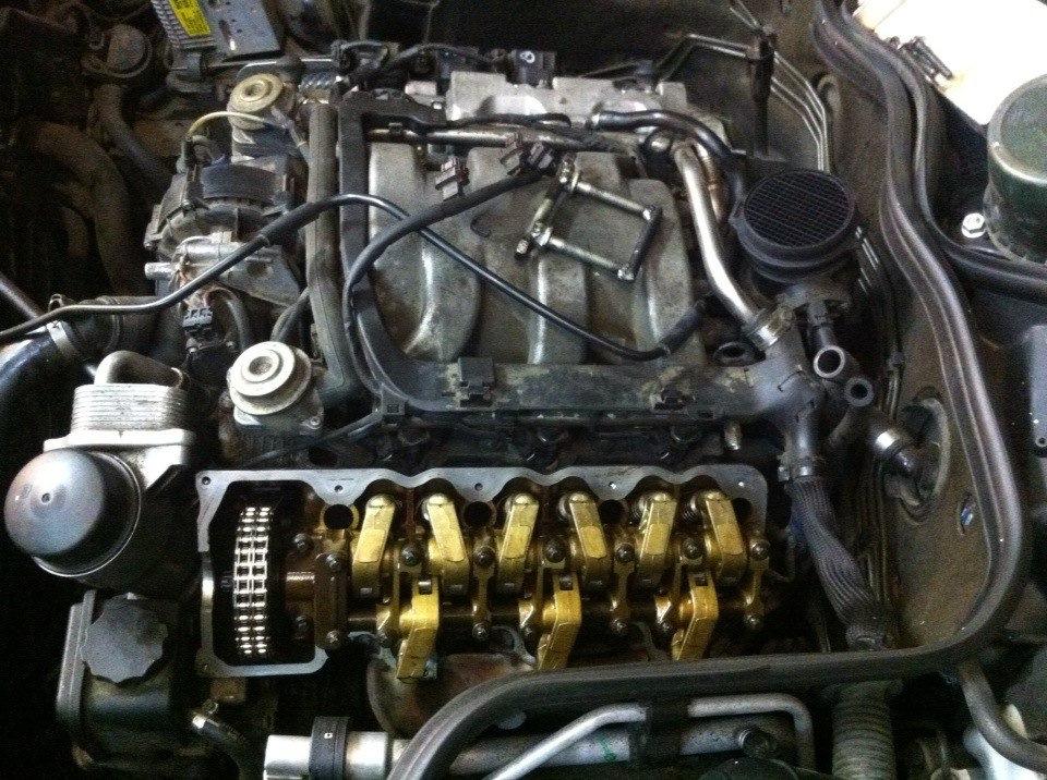 маслосъемные колпачки на мерседес с двигателем 112