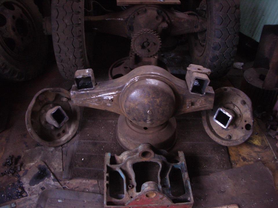 Делаем минитрактор: описание трактора, чертежи, фото 12