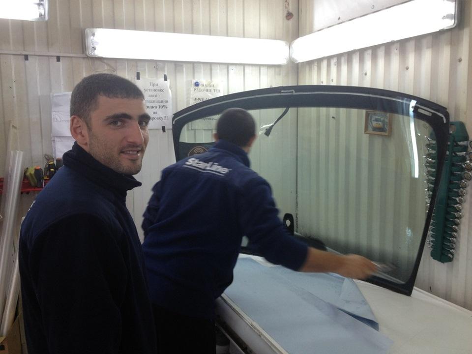 Как сделать обогрев лобового стекла 24
