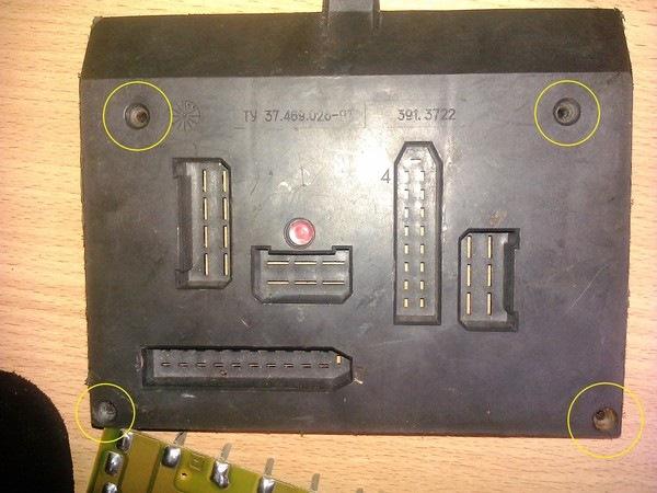 Ваз 2110 монтажный блок фото