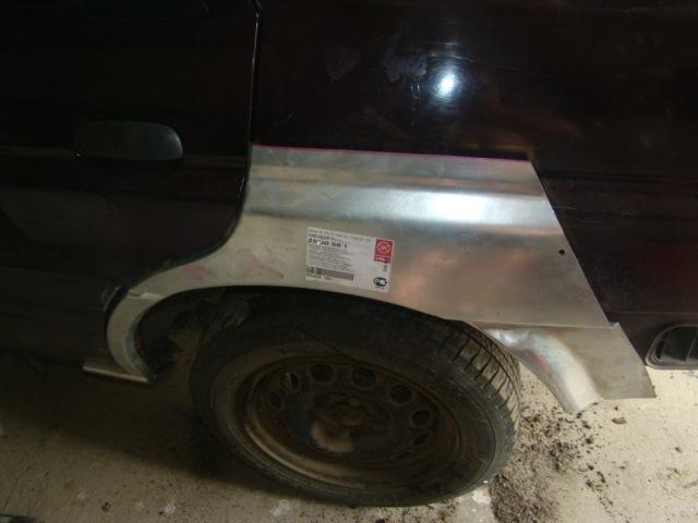 ремонт задних арок ford orion
