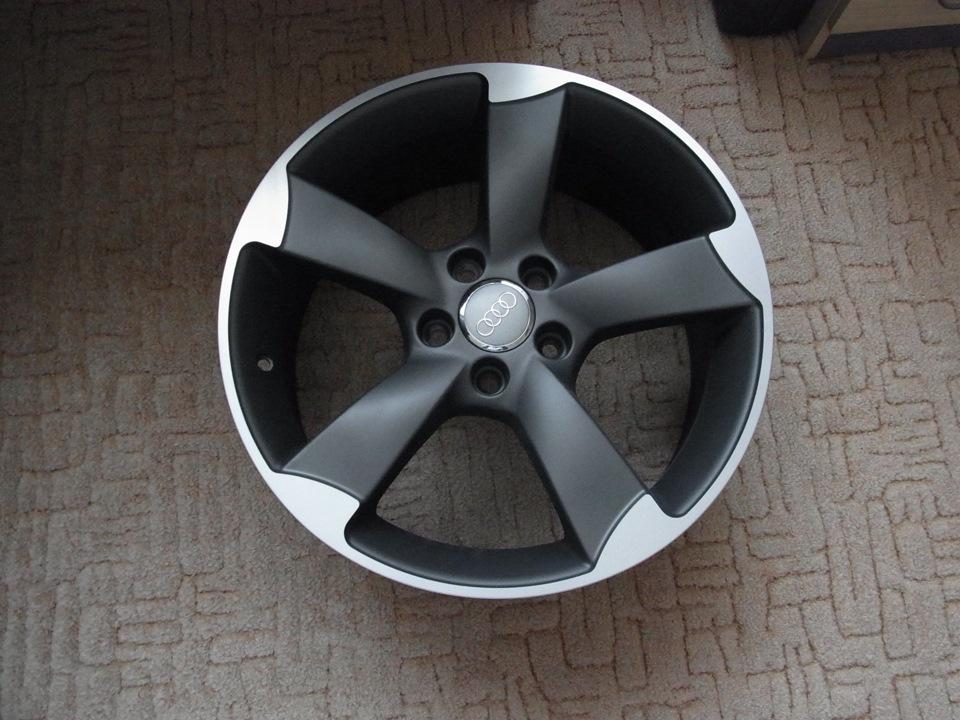 диски Audi Rotor 18 Audi A3 Sportback 18 л 2014 года на Drive2