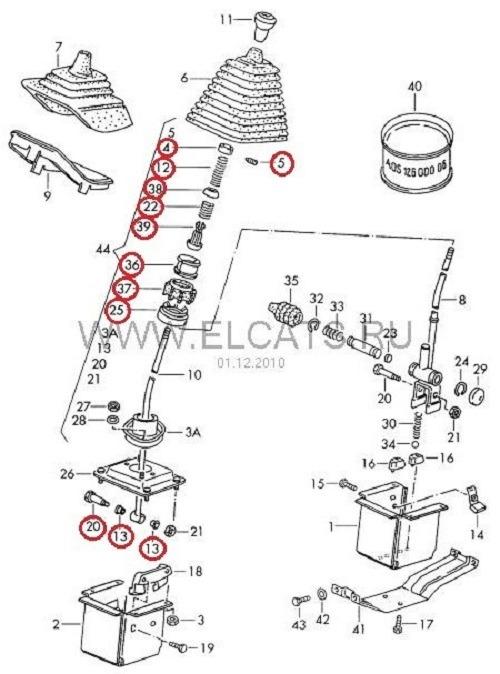 Фольксваген транспортер рычаг переключения передач скребки для ленточных конвейеров
