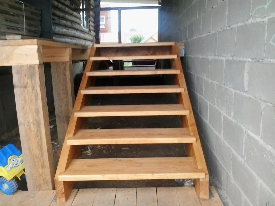 Лестница своими руками на крыльцо 18