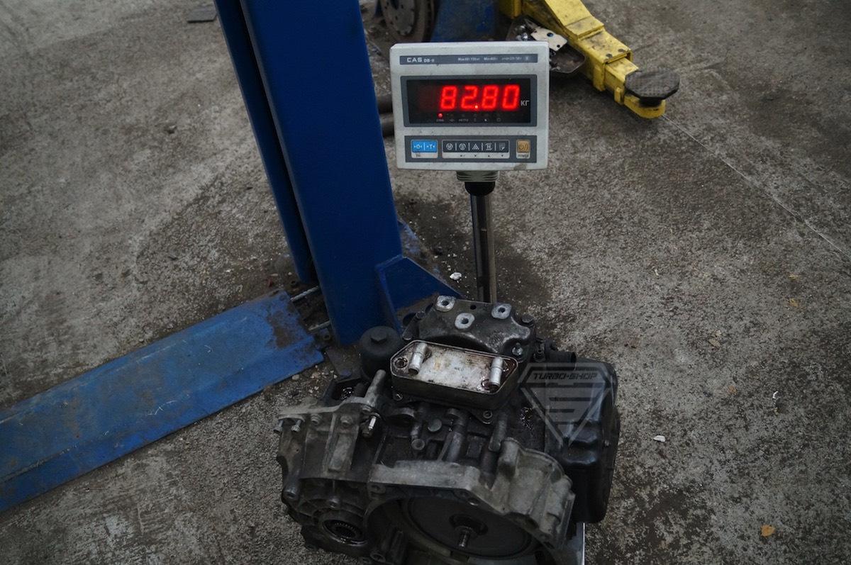 Замена (swap) DSG6 DQ250 на DSG7 DQ500 — Turbo Shop на DRIVE2