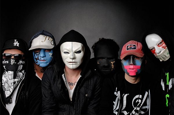 Hollywood undead danny все маски