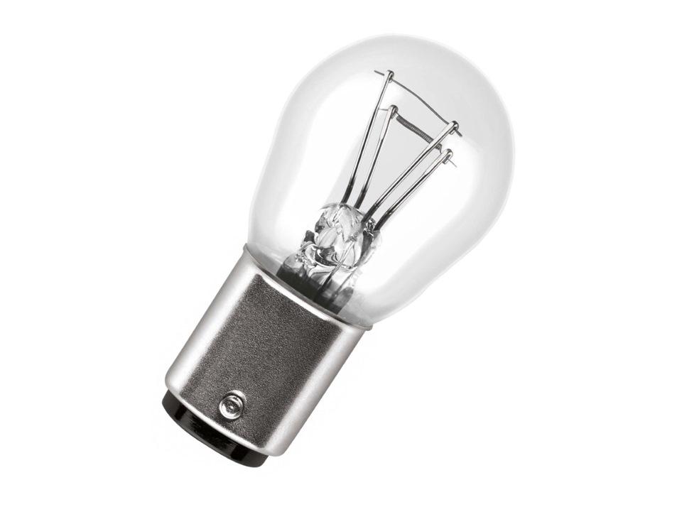 Цоколь очень схож с предыдущим с софитным цоколем, но имеет дополнительную рассеивающую площадку. Применяется для прожекторов, фонарей, кинопроекторов, навигационных огней и т.д. Этот цоколь лампы накаливания содержит в себе сборную линзу, которая и направляет поток света в нужную сторону. Цифры обычно обозначают диаметр фокусирующего фланца или части цоколя, на которой горизонтально устанавливается лампа.