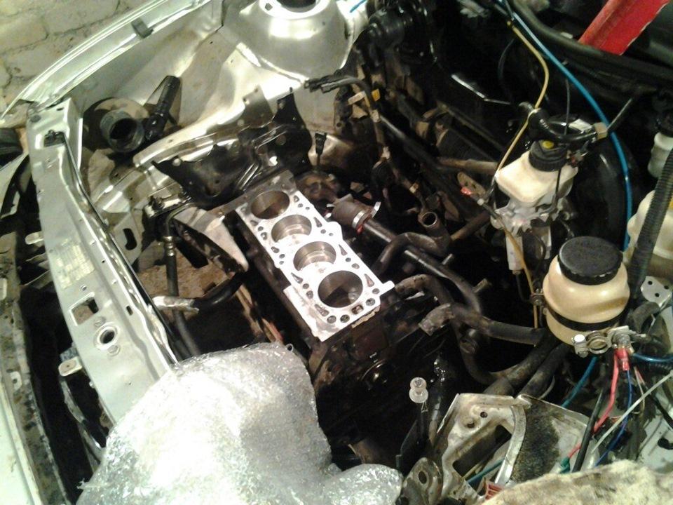 Капремонт двигателя дэу нексия своими руками 26