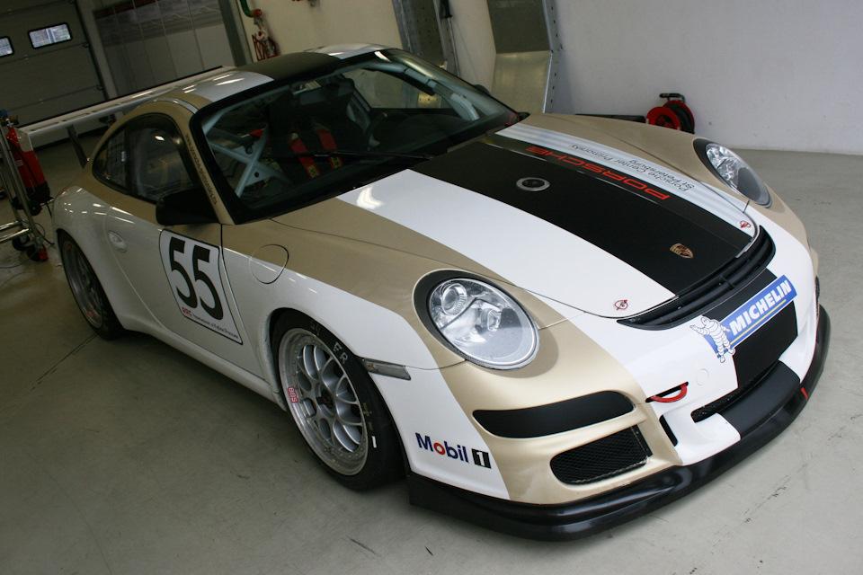 Питерский 997 GT3 Cup
