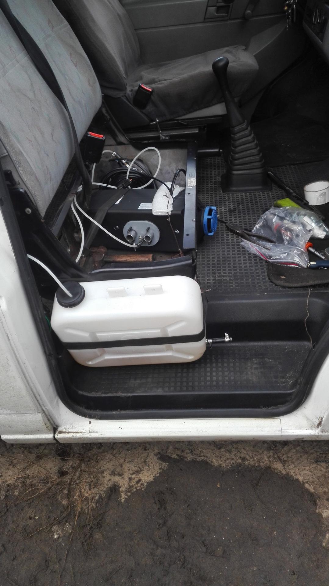 автономный подогрев двигателя т4 фольксваген