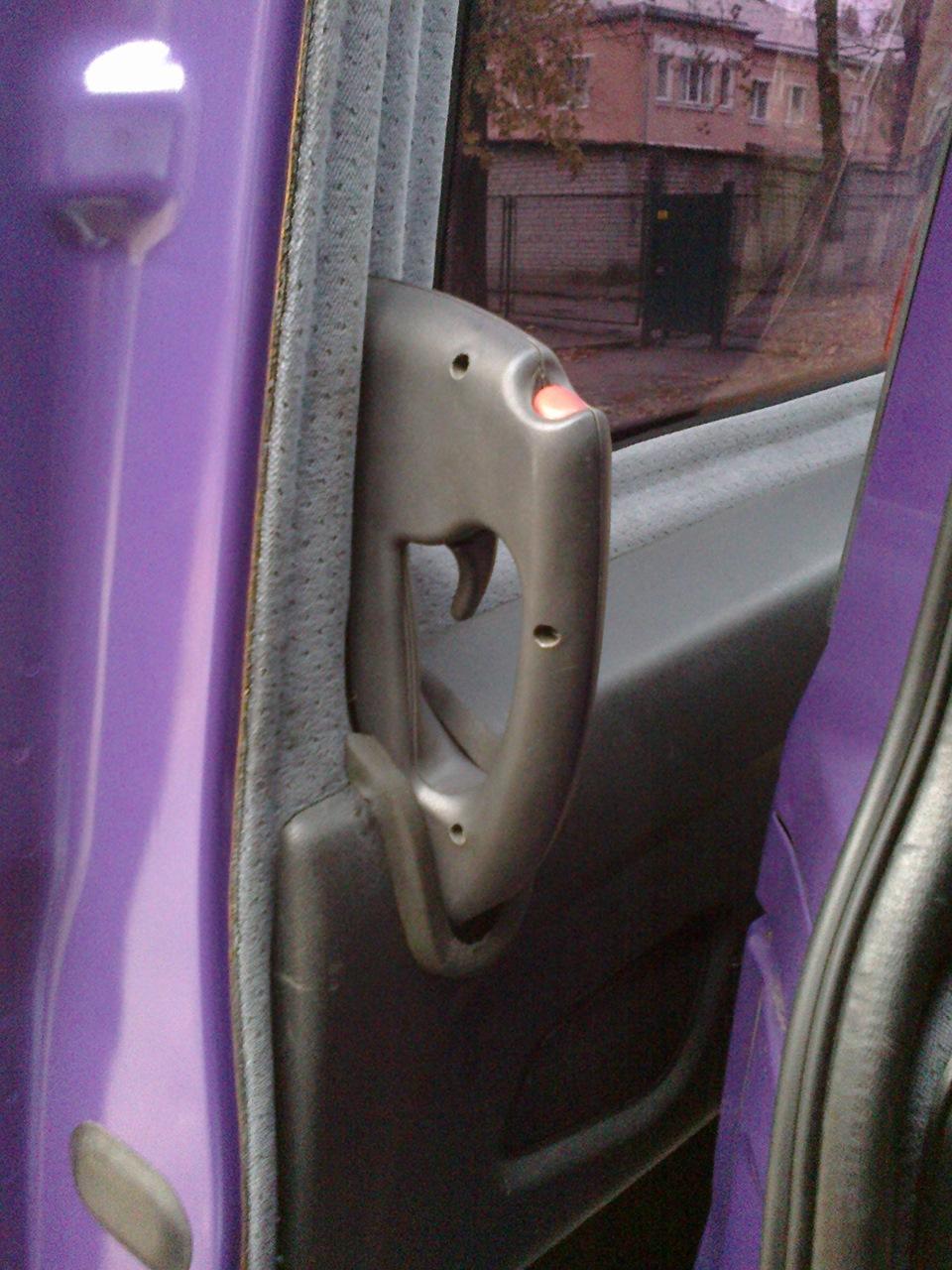 ручка двери салона фиат добло внутренняя