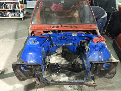 Toyota Starlet 4age conversion Logbook