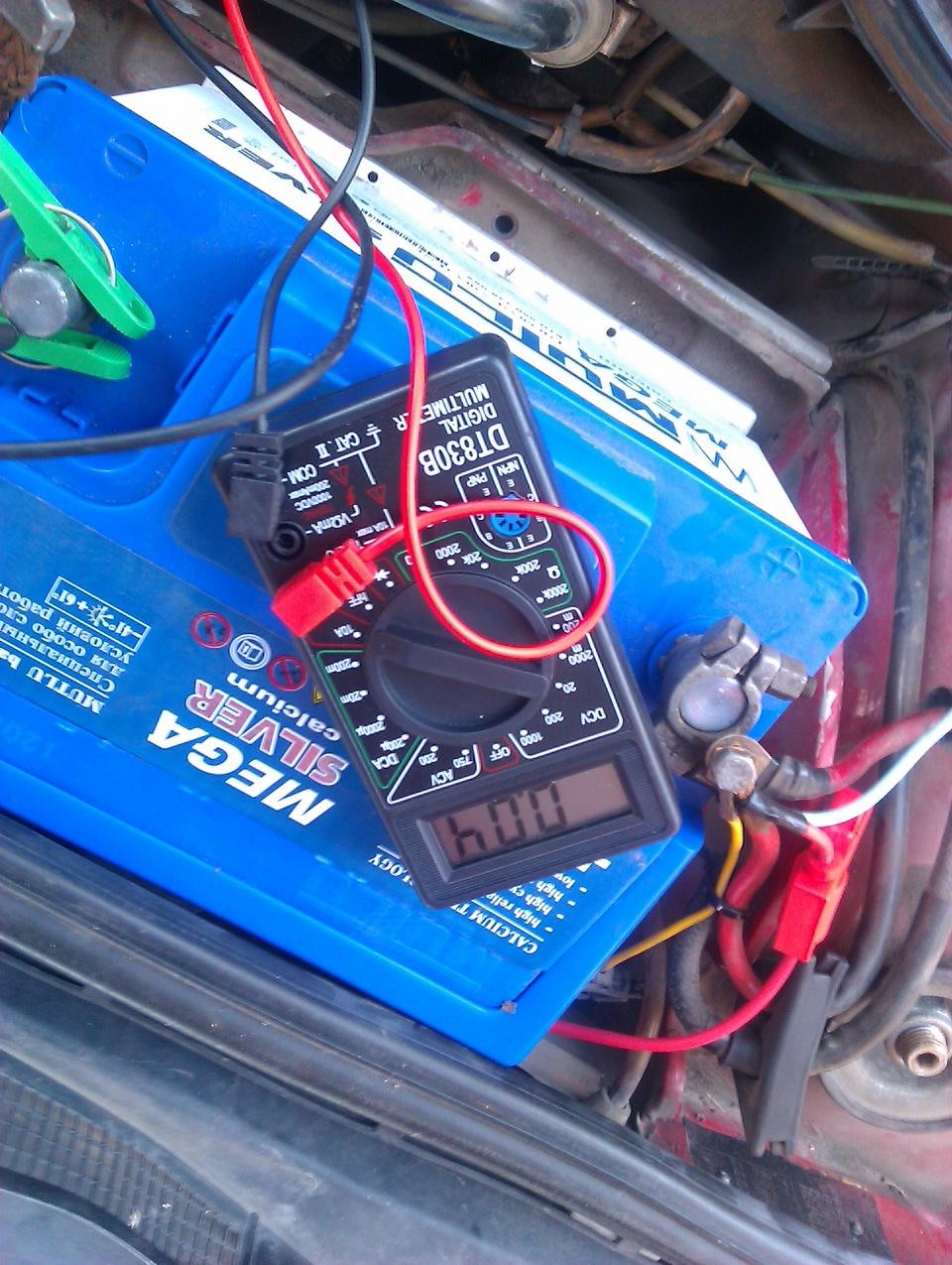 Как в машине найти что сажает аккумулятор 41