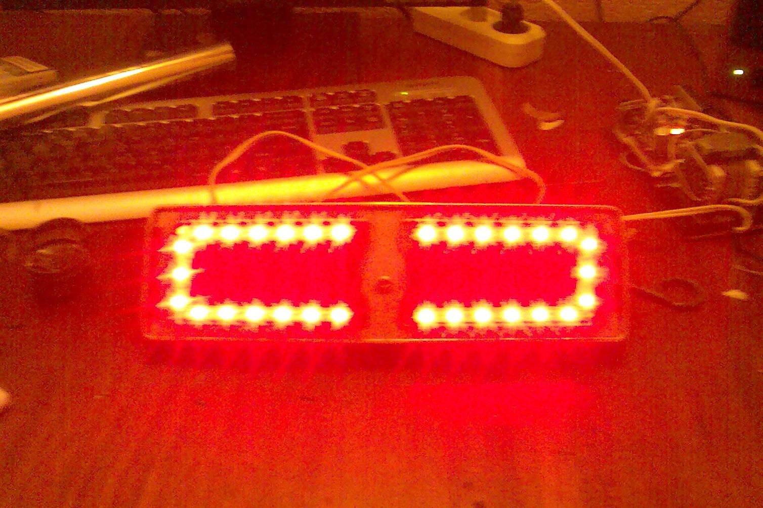 Как сделать светодиоды-стопы