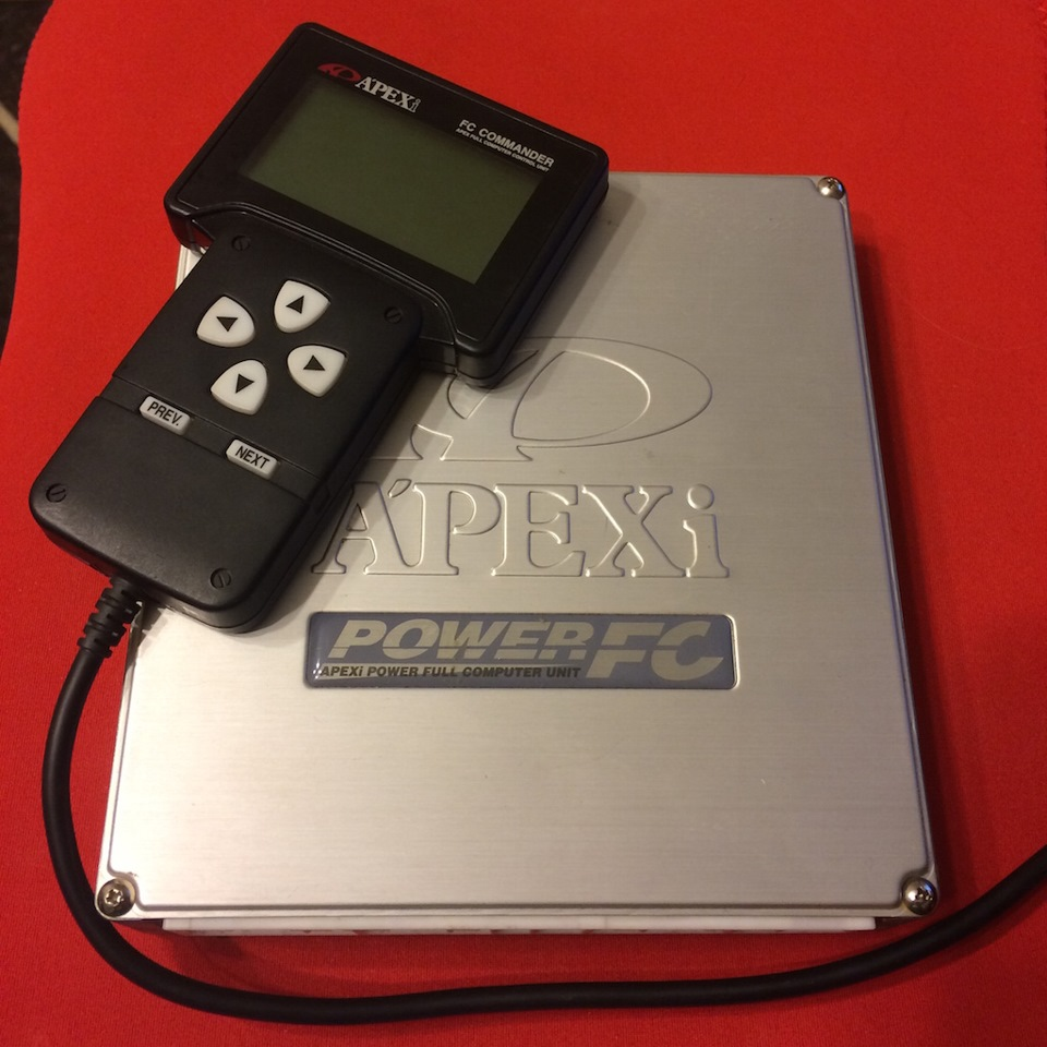 Apexi Powerfc Hand Controller Toyota Celica Time Faq Attack Turbo 2003 Drive2