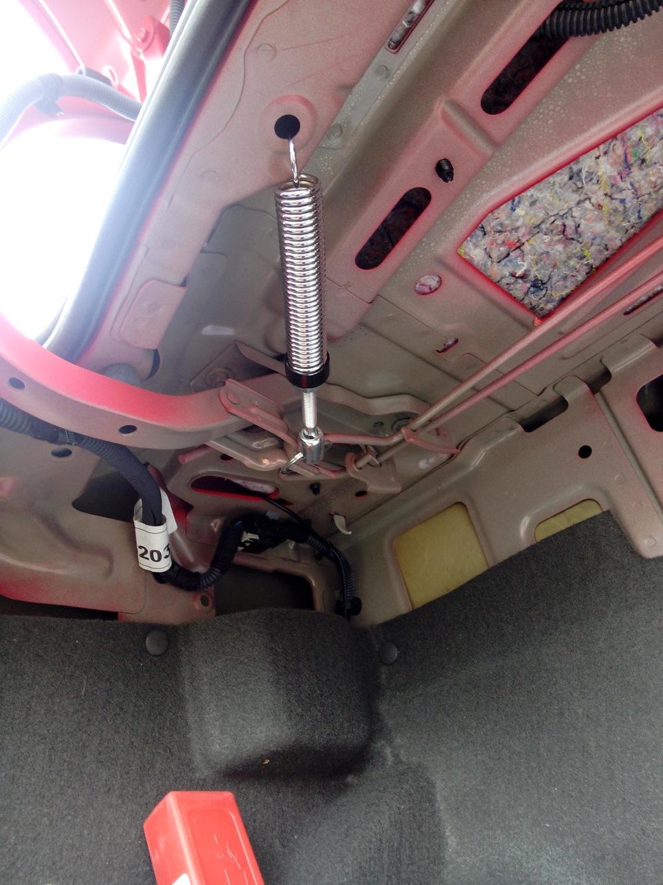 Полка в багажник своими руками чери индис