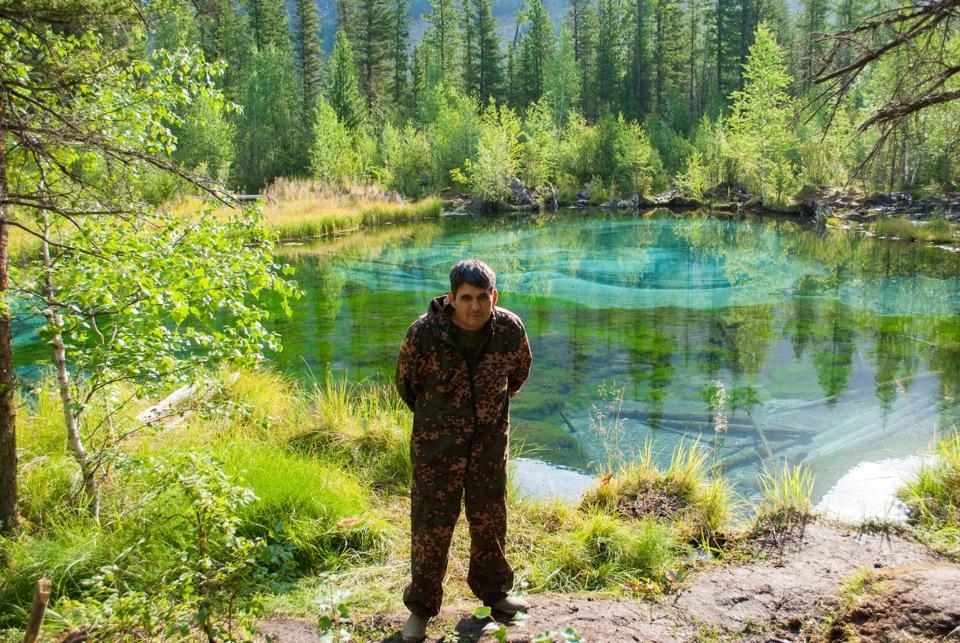 Гейзеровое озеро алтай - a