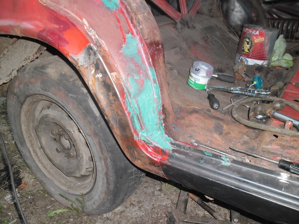 Ремонт порогов кузова автомобиля своими руками